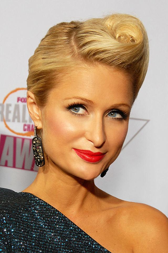 3.) Paris Hilton.
