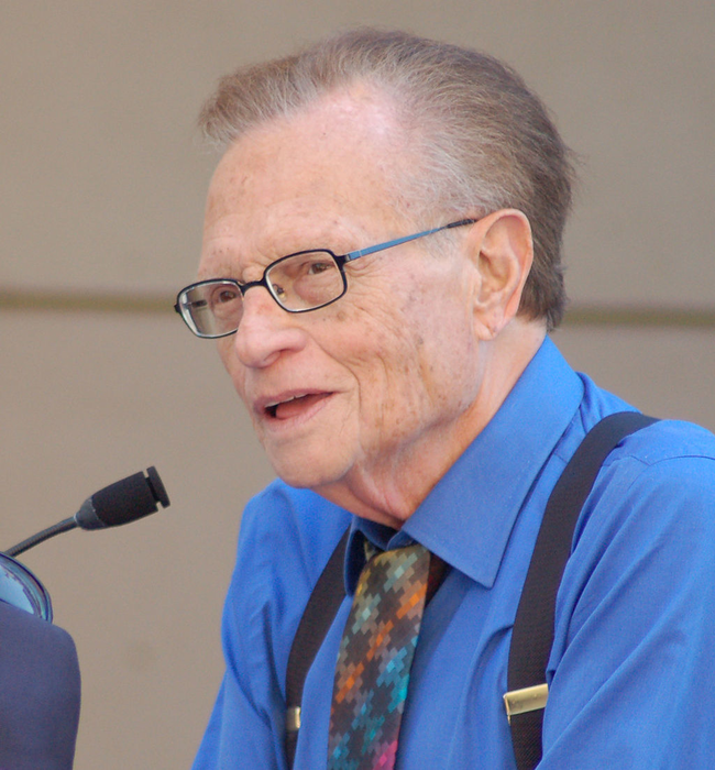 4.) Larry King.