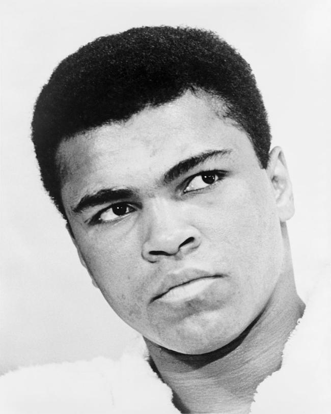 7.) Muhammad Ali.