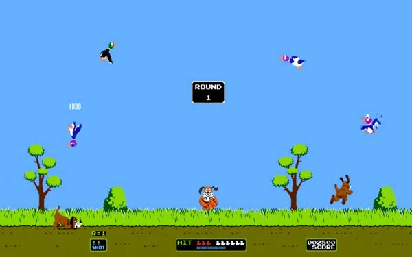 1.) The 2nd player in Duck Hunt could control the ducks.