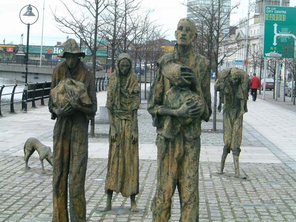 7.) Ireland's population has never fully recovered from the Great Potato Famine of the 1800s.