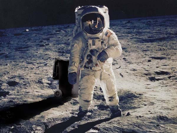 14.) Only 66 years passed between man achieving flight... and then flying to the moon.