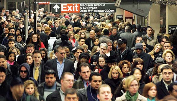 26.) If all 7 billion people on earth moved to Texas, it would have the population density of New York City.