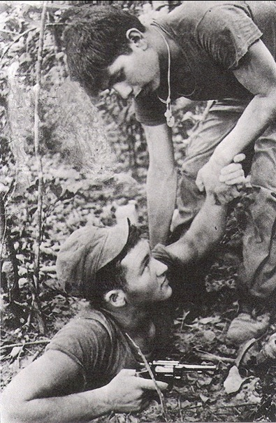 American soldiers would often accidentally fall through into the tunnels when navigating the lush jungle.