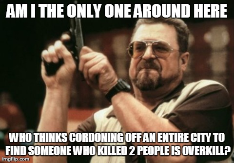 It's tragic and all, but...