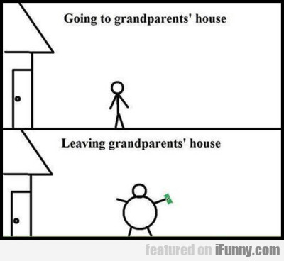 Going To Grandparents' House...