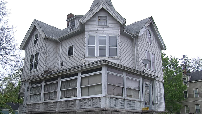 """Lizzie Borden was a woman who in 1892 was tried for axe-murdering her father and step-mother. She was eventually acquitted, so feel free to purchase the home where she laid her head for only $650,000. There's also apparently a Lizzie Borden-themed <a href=""""https://lizzie-borden.com/index.php/about-the-house/the-rooms.html"""">bed and breakfast</a> in the area that sounds like a real hoot."""