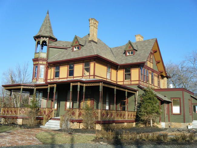 The Kreishcher Mansion in Staten Island is supposedly haunted by Lady Kreishcer who is still mourning her husband Edwin (who shot himself in the head). The Kreischer family once paid their butler to kill a business associate as well. Be a part of that history for just $2,499,000.