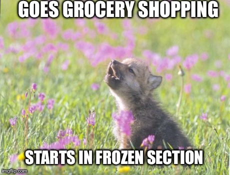 Baby Insanity Wolf goes grocery shopping