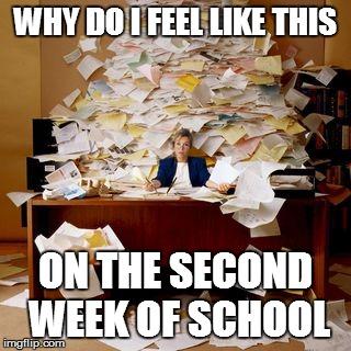 Second week of school