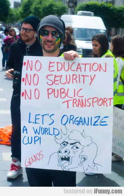 No Education, No Security...