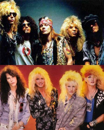 6.) Guns n' Roses vs. Poison