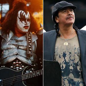 7.) Kiss vs. Santana