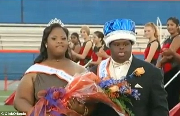 They are the first-known couple with Down syndrome to receive the honor in Florida