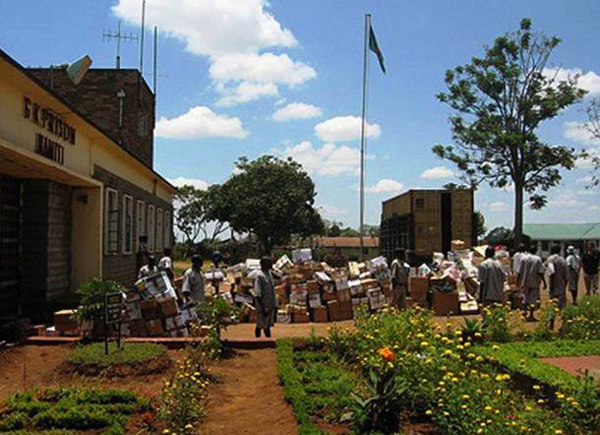 8.) Nairobi Prison, Kenya: This was built for 800 prisoners but held 3,000 in 2003. The cells reek of sweat, feces, filth and garbage.