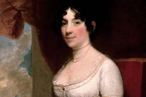 5.) Dolly Madison: The wife of James Madison has apparently refused to leave the White House. She has been haunting it since her death. Today, Dolley still watches over her rose garden there.