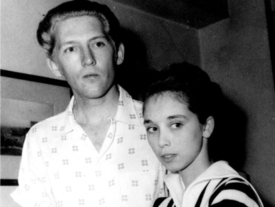 5.) Jerry Lee Lewis and Myra Gale Brown