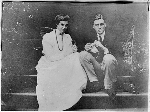 6.) FDR and Eleanor Roosevelt.