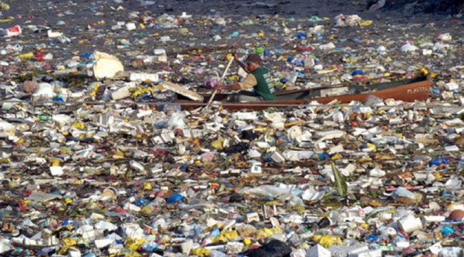 1.) The Great Pacific Garbage Patch