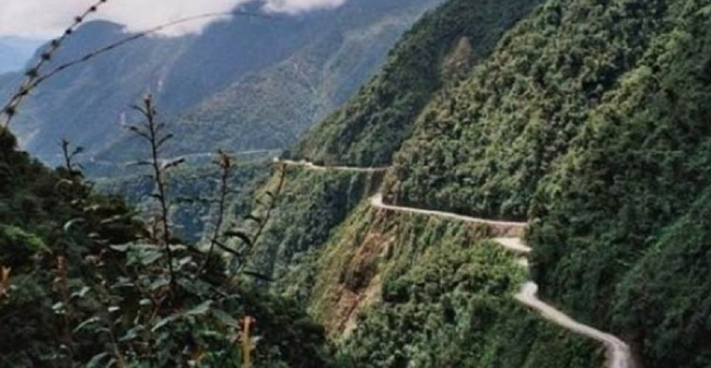 6.) The North Yungas Road