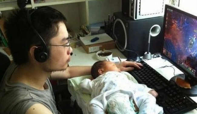 16.) Just think of how good they'll be with computers when they grow up.