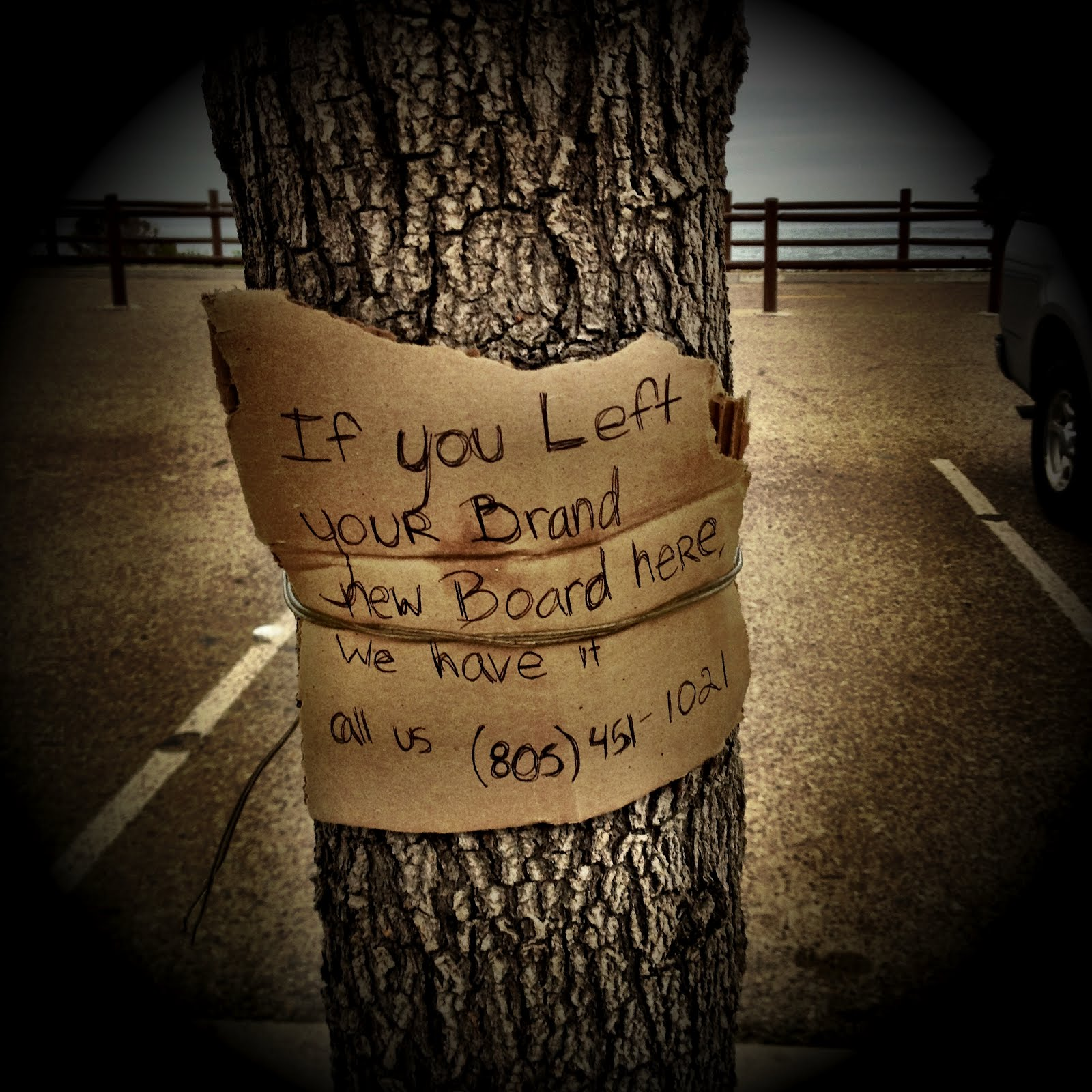 1. When some kids left this note to track down the owner of a forgotten skateboard that they could've easily stolen.