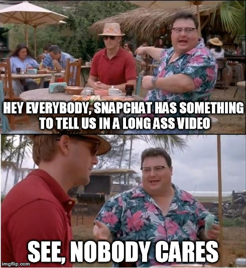 See Nobody Cares