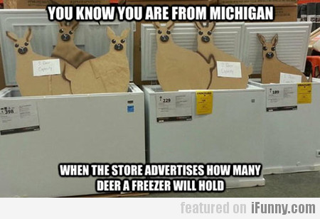 You Know You Are From Michigan When...